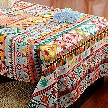 amerikanischen stil tischdecke gitter Lotus Hotel Couchtisch Geschirr staub tuch , A , 140*200cm