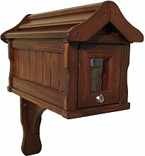 Amerikanischer Briefkasten aus Holz Handarbeit