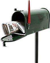 Amerikanischer Briefkasten US Mailbox GRÜN mit