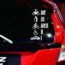 AmerStar DIY-Auto-Karosserie-Aufkleber,