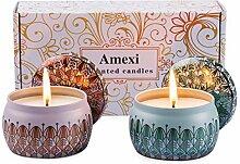 Amexi Duftkerzen, Anti Moskit Kerze, 100%