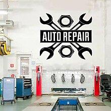 Ami0707 Wandtattoo Auto Auto Reparatur Logo Auto