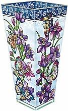 Amia Glas Vase, Multicolor, 22,9cm