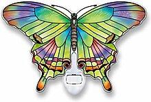 Amia Peridot Schmetterling Glas Nachtlich