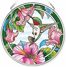 Amia Pretty In Pink Kolibri, handgefertigt, Glas,