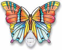 Amia Topas Schmetterling Glas Nachtlich