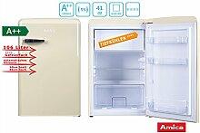 Amica Retro Kühlschrank Creme KS 15615 B A++ 106