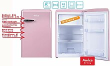 Amica Retro Kühlschrank mit Gefrierfach