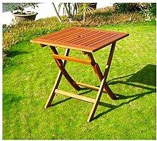 Amicasa. Gartentisch klappbar aus Holz