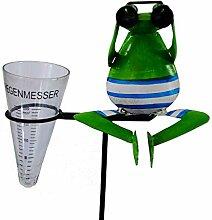 Amicaso Regenmesser Frosch Fernglas Metall