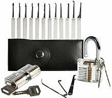 Amile LK81 20 Stück Dietrich Werkzeuge Set der