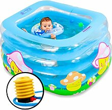 AMINSHAP Aufblasbarer Swimmingpool-Isolierungs-Baby-Swimmingpool drei Schichten des neugeborenen Badens senden Marinekugel