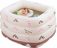 AMINSHAP Aufblasbarer Swimmingpool-Isolierungs-Baby-Swimmingpool drei Schichten des neugeborenen Badens senden Marinekugel (größe : Pattern two)