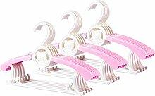 Amitas 15 Stück Kleiderbügel Baby Dehnbar
