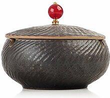 AMITD Chinesische Keramik Aschenbecher mit Einer