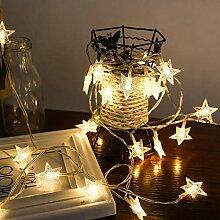 amiubo Hausgarten Weihnachtsdekoration Stern