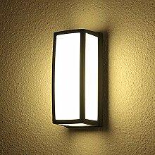 Amkoc Modern LED Rechteckig Wandleuchte 10W