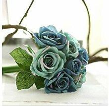 AMKSD Künstliche Blume Künstliche Rose Blume