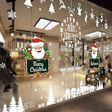 Ammybeddings Weihnachten Fensteraufkleber