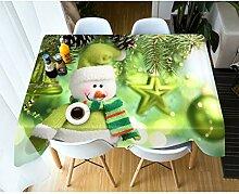 AMON LL Weihnachten Polyester Tischdecke für