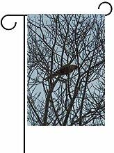AMONKA Garten-Flagge für trockenen Zweig,