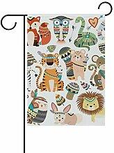 AMONKA Garten-Flagge, zweiseitig, Polyester, für