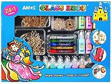 Amos Glas Deco Fenster Aufkleber Art 24+