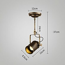 AMOS Rejuvenation Spotlight Creative Bar Bar LED Deckenleuchte ( Farbe : 37 cm (length 5 W) )