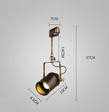 AMOS Retro Beleuchtung LED Deckenleuchte Führer Lampe ( Farbe : 37 cm 5W )