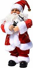 Amosfun elektrische weihnachtsmann Puppe Spielzeug