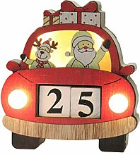 Amosfun Weihnachts-Countdown-Kalender,