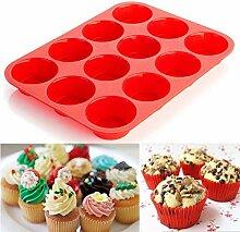 AMOYER 1PC Silikon-Kuchen-Werkzeuge Fondant Küche
