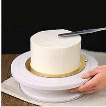 Amoyer 28 cm Kunststoff-Kuchen, Tabelle