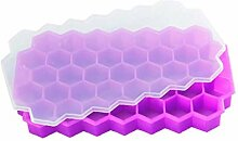 AMOYER 37 Grid Eiswürfel Honeycomb Ice Cream
