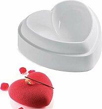 AMOYER Backform Love Heart 3D Kuchen Mould Kuchen,