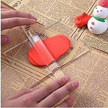 Amoyer Transparente Hohl Acryl Roller Polymer Clay