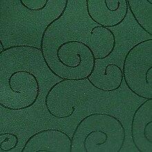 amp-artshop© Tafeldecke Paulina Eckig 135x200 cm Dunkelgrün Grün - Farbe wählbar · Fleckabweisend Tischdecke