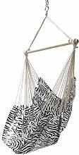 Ampel 24 Garten Hängesessel Zebra schwarz/weiß