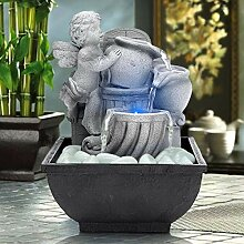 AMPLE Zimmerbrunnen für Entspannung