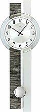 AMS 7439 Pendel-Uhr, Wanduhr mit Quarz-Uhrwerk,