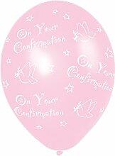 Amscan 27,5cm Konfirmation 25Latex Luftballons