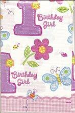 AmscanInternational Papiertischdecke, Design HugsandStitches, für Mädchen