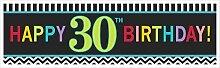 "Amscan Riesiges Geburtstagsbanner ""30th"
