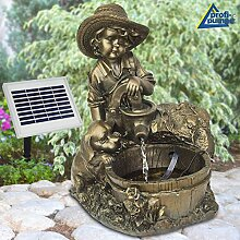 Amur Garten Brunnen Solar Teichpumpe Solar