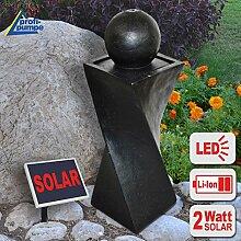 Amur Solar Gartenbrunnen Brunnen Solarbrunnen