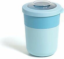 Amuse Lunch Pot mit Zwei Fächern, Blau, 500ml +
