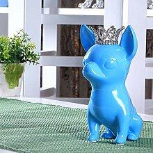 Amuuuz Statue Simulation Tier Hund Wohnzimmer Home