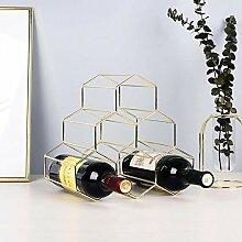 Amuuuz Weinregal Dekoration Weinflaschenhalter