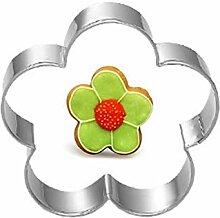 AMWFF Blume Teigmesser Dekoration Kuchen Obst