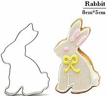 AMWFF Kaninchen Fondant Cutter Spielzeug Küche